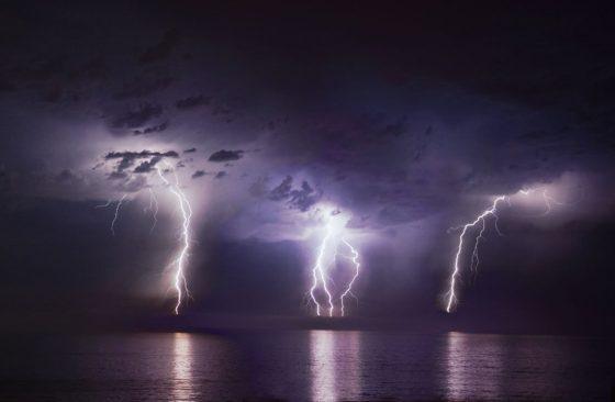 Triple Lightning Strike
