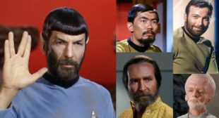 What if everyone on Star Trek: The Original Series had a beard?