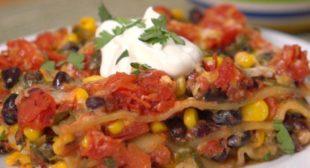 Tasty Southwestern Lasagna Recipe