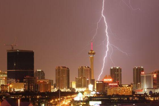 Stratosphere Lightning
