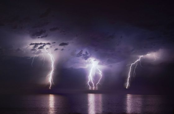 Triple Lightning Strike