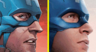 Watch as the Avengers Morph From Their Comic Form to Their Actor Counterparts